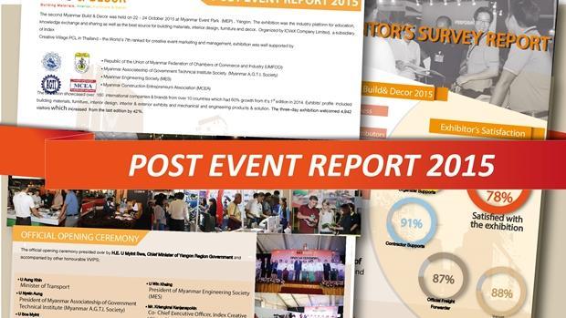 Post Show Report 2015